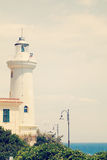 Lighthouse. Italy, Lazio, San Felice Circeo Royalty Free Stock Image