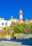 The lighthouse of Jaffa royalty free stock photos