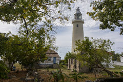 Lighthouse in Jamaica Stock Images