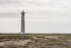 Lighthouse Jandia Playa, Fuerteventura Stock Photography