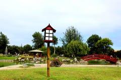 Lighthouse Japanese garden. Lighthouse Japanese garden, La Serena, Chile Stock Image