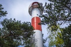 Lighthouse in Poland Royalty Free Stock Photo