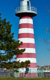 Lighthouse at Jersey City, New Jersey Stock Images