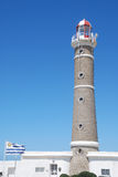 Lighthouse of José Ignacio, Uruguay Royalty Free Stock Images