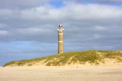 Lighthouse in Jose Ignacio Stock Images
