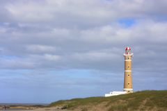 Lighthouse in Jose Ignacio Stock Image