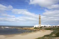 Lighthouse in Jose Ignacio Royalty Free Stock Photography