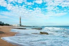 Lighthouse in Jose Ignacio, Uruguay Royalty Free Stock Image