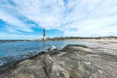 Lighthouse in Jose Ignacio, Uruguay Stock Images