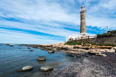 Lighthouse in Jose Ignacio, Uruguay Stock Photos