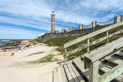 Lighthouse in Jose Ignacio, Uruguay Stock Images