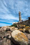 Lighthouse in Jose Ignacio, Uruguay Royalty Free Stock Photos