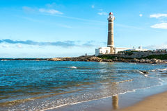 Lighthouse in Jose Ignacio, Uruguay Royalty Free Stock Image