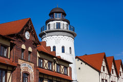 The lighthouse in Kaliningrad Royalty Free Stock Photo