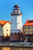 Lighthouse in Kaliningrad Royalty Free Stock Photography