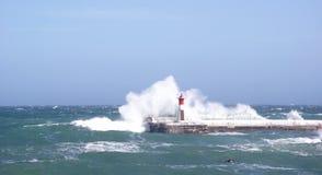 Lighthouse in Kalkbay, CapeTown Stock Images
