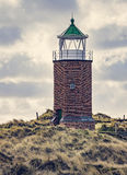 Lighthouse at Kampen Royalty Free Stock Photos