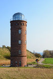 Lighthouse on Kap Akona (Germany) Stock Photo