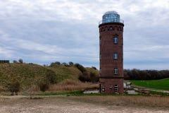 Lighthouse at Kap Arkona, Island of Ruegen, Germany. Lighthouse at Kap Arkona, Island of Ruegen Royalty Free Stock Image