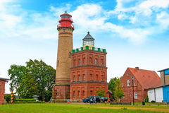 Lighthouse Kap Arkona, Schinkelturm Royalty Free Stock Photo