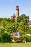 Lighthouse Kap Arkona, Schinkelturm Stock Images