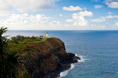 Lighthouse, Kauai, Hawaii Stock Photo