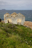Lighthouse Keeper's House. The old lighthouse keeper's house at King Point in Albany, Western Australia stock photo