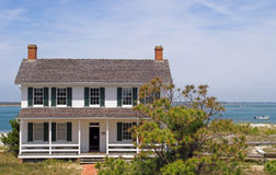 Lighthouse Keeper's House Royalty Free Stock Photos