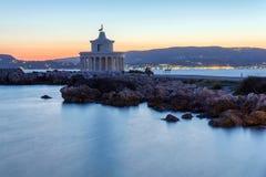 Lighthouse Kefalonia. Lighthouse in Argostoli, Kefalonia, Greece Royalty Free Stock Photos
