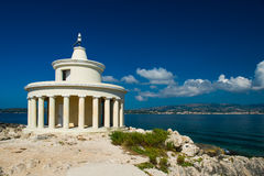 Lighthouse in Kefalonia. royalty free stock photography