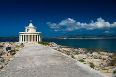 Lighthouse in Kefalonia. Stock Photos