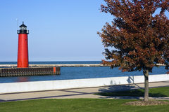 Lighthouse in Kenosha Royalty Free Stock Photography