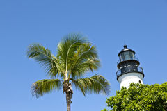 Lighthouse from Key West in Florida Royalty Free Stock Photos