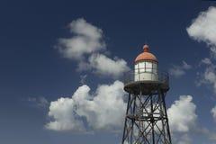 Lighthouse at Kijkduin Royalty Free Stock Photos