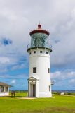 The lighthouse of Kilauea, Hawaii Royalty Free Stock Photo