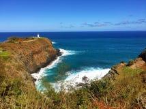 Lighthouse at Kilauea, Kauai in Hawaii Royalty Free Stock Photos
