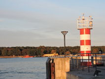 Lighthouse in Klaipeda, Lithuania Stock Photos