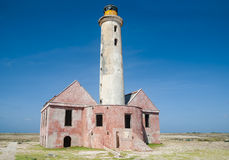 Lighthouse on Klein Curacao Royalty Free Stock Photo