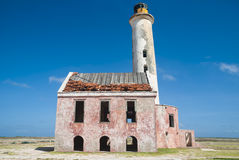 Lighthouse on Klein Curacao Stock Photography