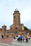 Lighthouse in Kolobrzeg Stock Photo