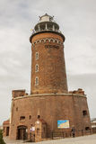 Lighthouse in Kolobrzeg - Poland. Royalty Free Stock Photography