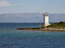 Lighthouse (Korcula) Royalty Free Stock Photo