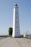 Lighthouse in Kronshtadt Stock Image