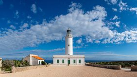 The Lighthouse of La Mola in Formentera stock photography