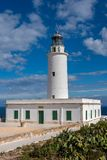 The Lighthouse of La Mola in Formentera royalty free stock images