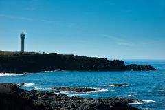 Lighthouse La Palma Royalty Free Stock Images