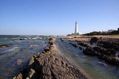 Lighthouse, La Paloma, Uruguay Stock Photo