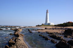 Lighthouse, La Paloma, Uruguay Royalty Free Stock Images
