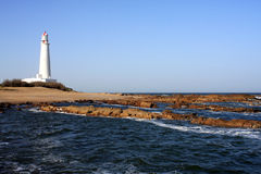 Lighthouse, La Paloma, Uruguay Royalty Free Stock Photo