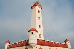 Lighthouse in La Serena Stock Photo
